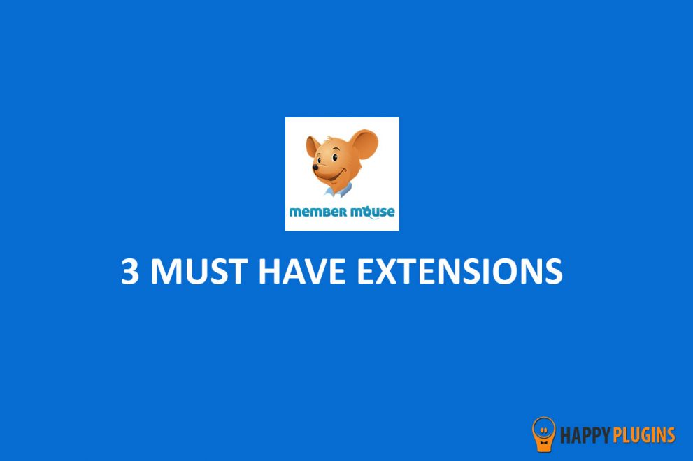 3 MemberMouse Plugins (Extensions) that will Increase Your Membership Site's Sales & Revenues
