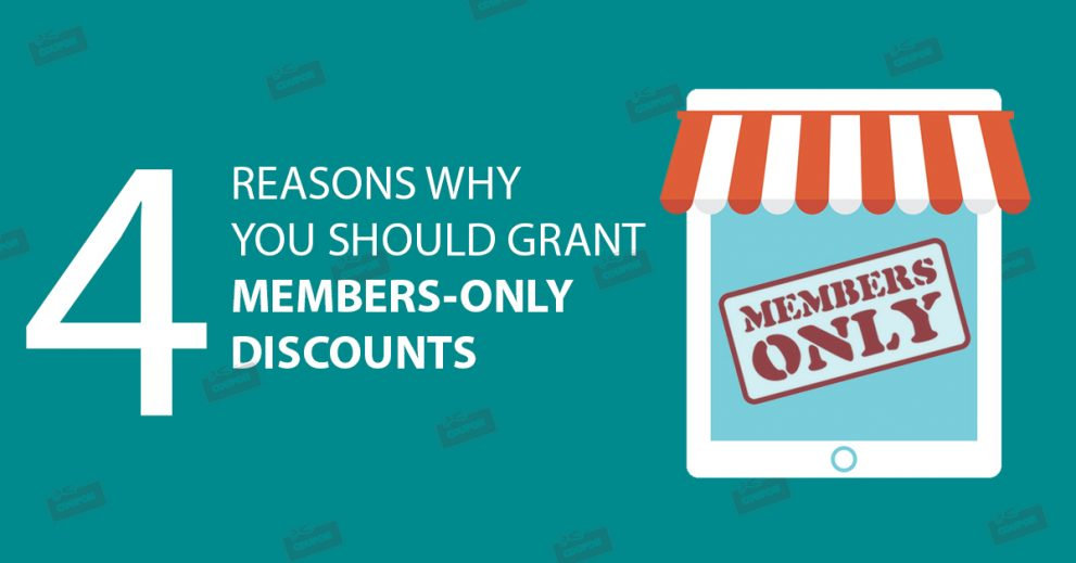 4 Reasons Why You Should Grant Members-Only Discounts on Your Products & Merchandise