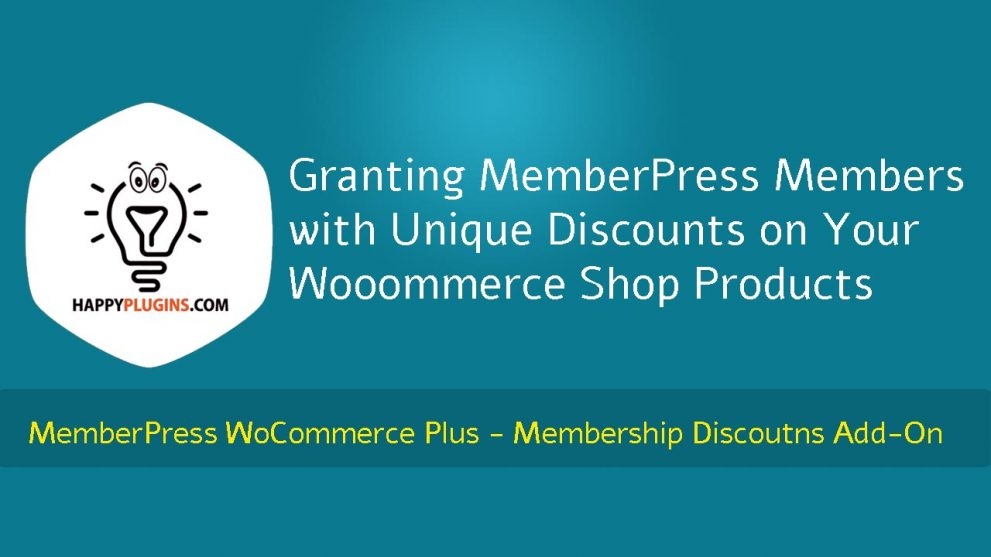 Granting MemberPress Members with Unique Discounts on Your Wooommerce Shop Products
