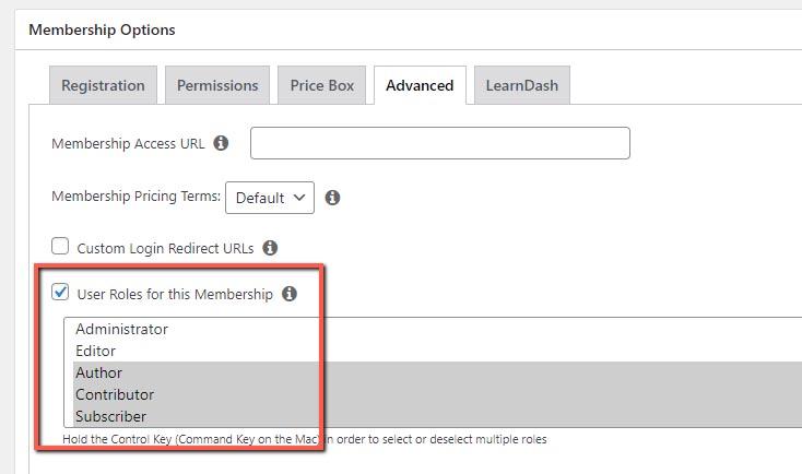 MemberPress WooCommerce Plus - Support for MemberPress User Roles