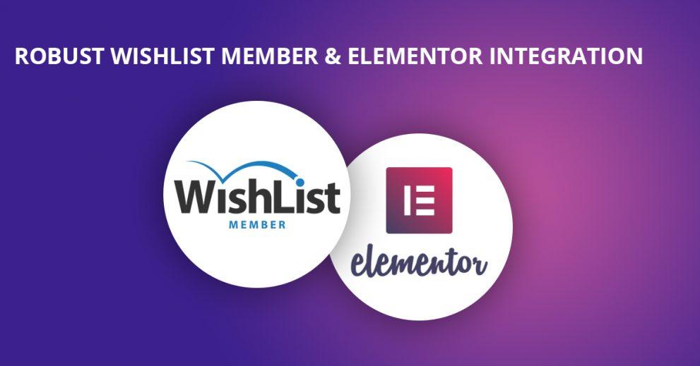 The Most Robust WishList Member & Elementor Integration!