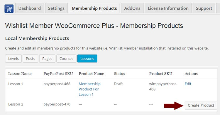 Wishlist Member WooCommerce Plus – Custom Post Type (AddOn)