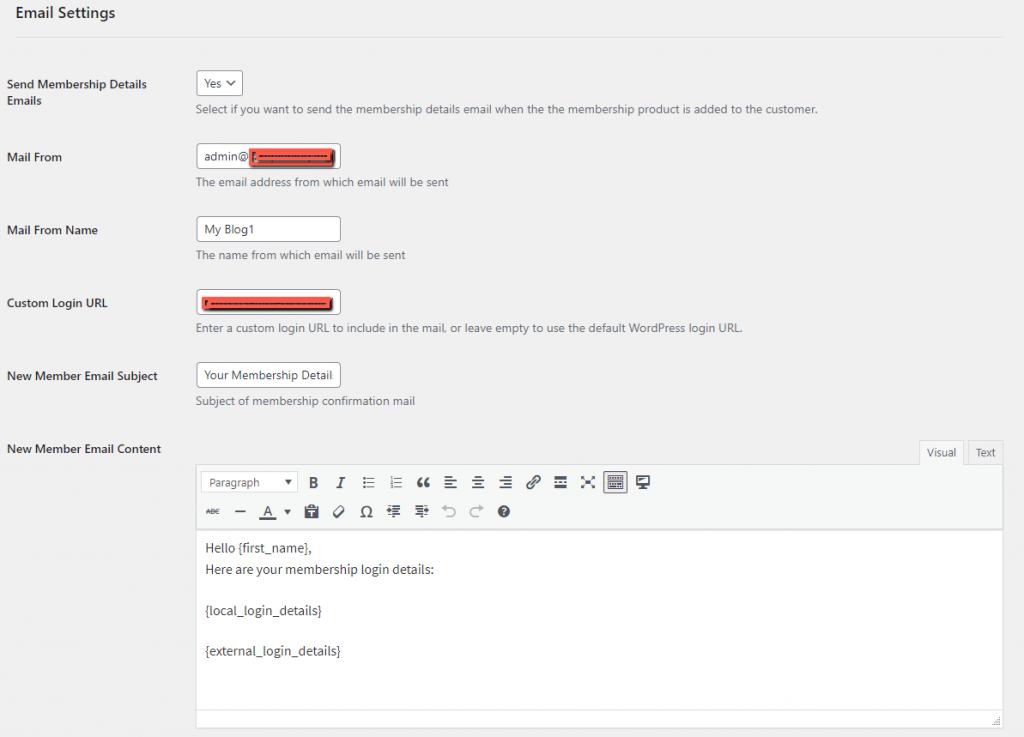 MemberPress WooCommerce Plus Email Settings