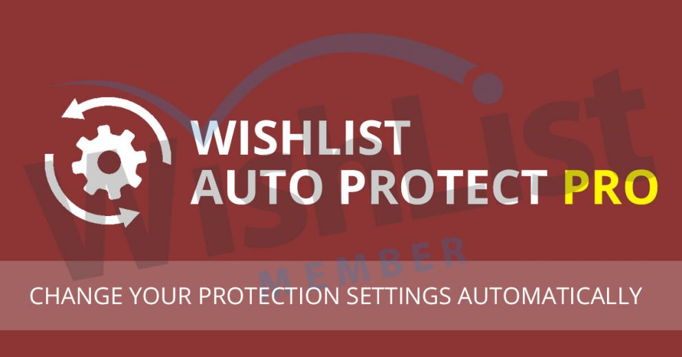 Wishlist Auto Protect Pro Plugin - New Version Release
