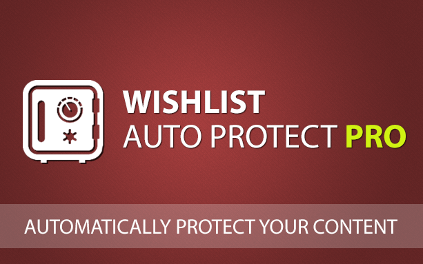 Can I change Wishlist Member's content protection status automatically?