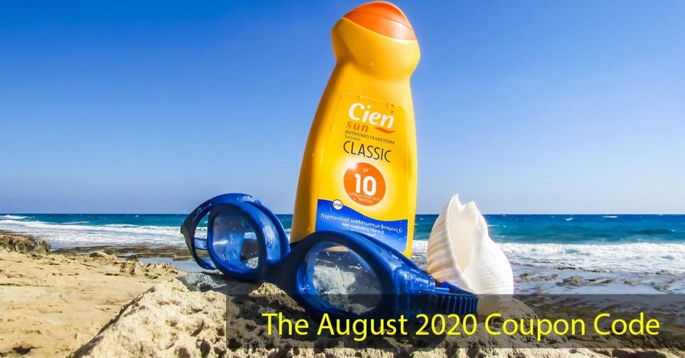 The August 2020 Coupon Code