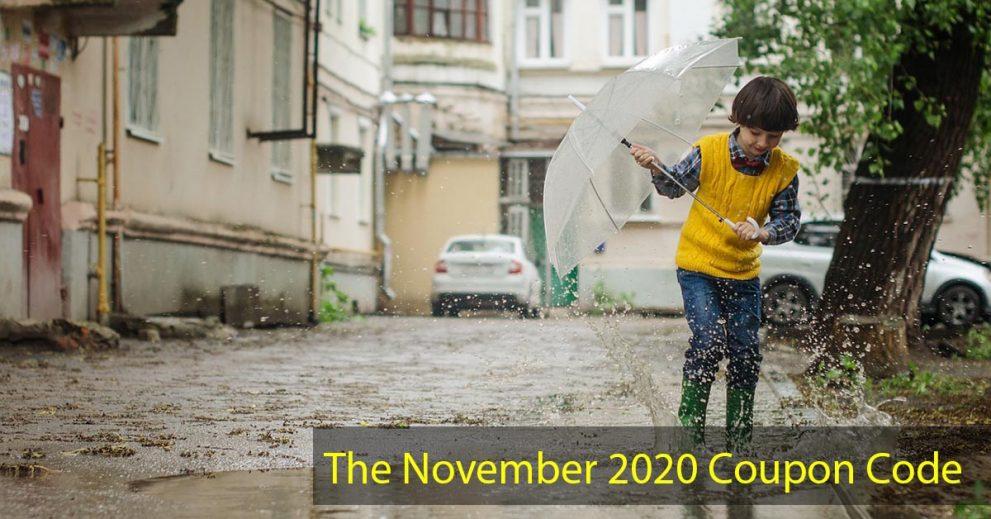 The November 2020 Coupon Code