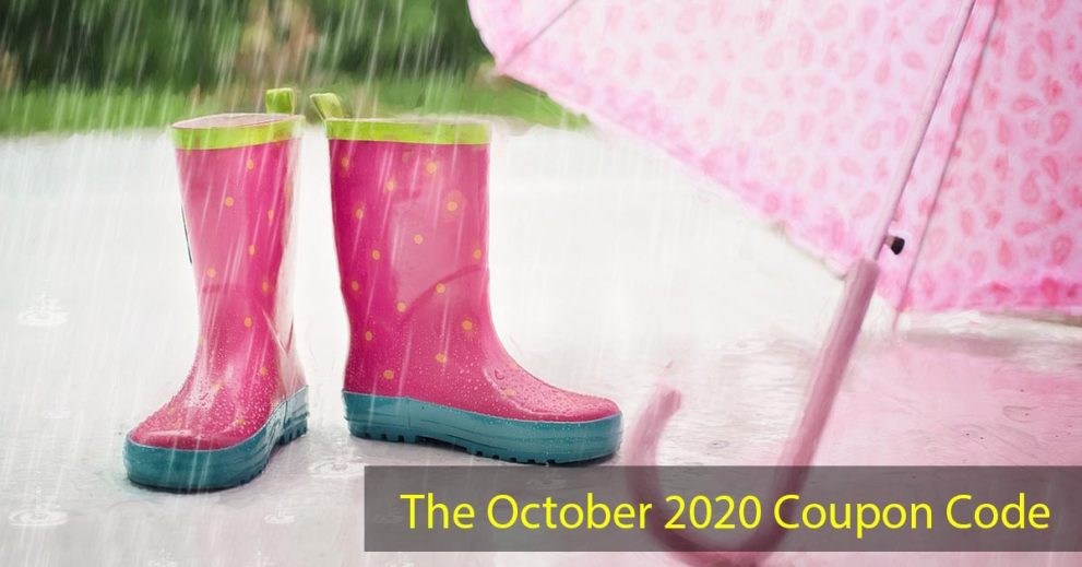The October 2020 Coupon Code
