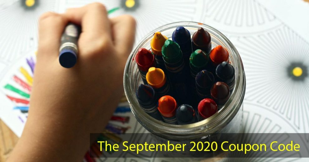 The September 2020 Coupon Code